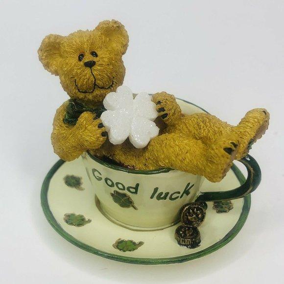 Boyds Bear Teabearies Lucky Teabearie Good Luck